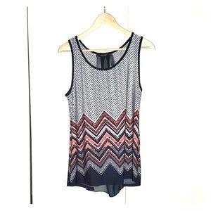 Casual sleeveless dress shirt